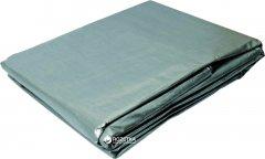 Тент Mastertool 4х6 м 110 г/м² серебро (79-7406)