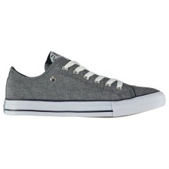 Кеди чоловічі Dunlop Mens Canvas Low Top Trainers сірі 43 (28) (2460465043)