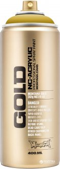 Акриловая краска-спрей Montana Gold 1050 Карри 400 мл (Curry) (4048500283956)