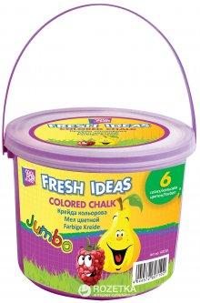 Набор мела Cool for school Jumbo 15 шт Цветной в пластиковом ведре (CF60710) (4044572607102)