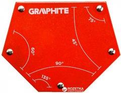 Магнитный угольник Graphite 111 x 136 x 24 мм (56H905)