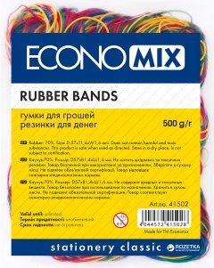Резинки для денег Economix 500 г Ассорти (E41502)