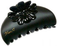 Заколка для волос Mari N. Краб с системой Grip-Link 8 х 4 см Черная (K304NR-C877) (2000011875015)