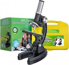 Микроскоп Optima Beginner 300x-1200x подарочный набор (926245)