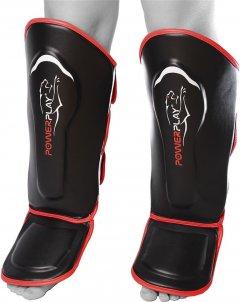 Защита голени и стопы PowerPlay 3052 S Black/Red (PP_3052_S_Black_Red)