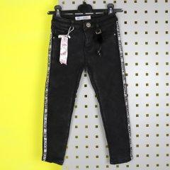 Джинси на флісі, для дівчинки F&D Kids (1070чер) Ріст 104-110 см Чорний