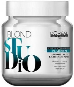 Обесцвечивающая паста без аммиака L'Oréal Professionnel Paris Blond Studio Platinium 500 г (3474630706248)
