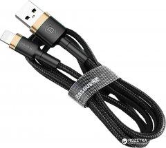Кабель Baseus Cafule Cable Lightning – USB 1.0 м 2 A Black-Gold (CALKLF-BV1)