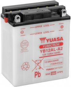 Мото аккумулятор Yuasa 12V 12.6Ah YuMicron Battery YB12AL-A2 (сухозаряжений) (YB12AL-A2)