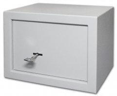 Сейф мебельный SteelNet SN-17К-7035