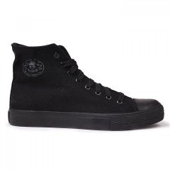 Кеди Dunlop Canvas High Top Black/Black, 46 (10080181)