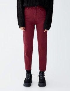 Джинси PULL & BEAR Ж1052999 (9680/381/605) колір червоний XS