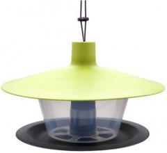 Кормушка для птиц Plastia Finch 28х17 см Зеленая (8590415007807)