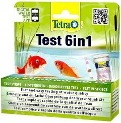 Набор полосок-тестов для проверки качества воды Tetra Pond Test Set 6-in-1 25 шт (4004218192713)