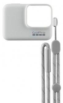 Силиконовый чехол с ремешком GoPro Sleeve&Lanyard (White) (ACSST-002)