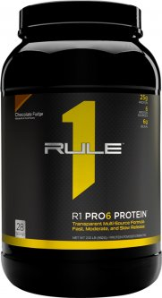 Протеин R1 (Rule One) Pro 6 Protein 952 г Шоколад (837234108802)
