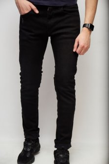Джинси чоловічі утеплені Fashion Republic Mario 6336 32 Чорний