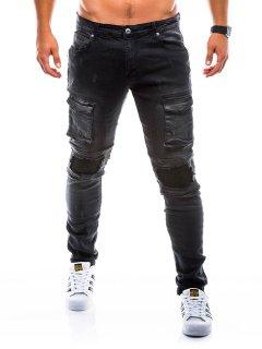 Джинсы мужские D773 - черный Ombre 33 Черный