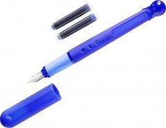 Ручка перьевая для правши Herlitz Tornado A Blue Синяя Синий корпус (8621351B)