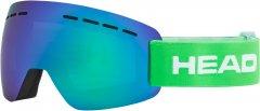 Маска горнолыжная HEAD Solar FMR Green (726424620449)