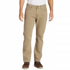 Чоловічі джинси Eddie Bauer Mens Flex Jeans Straight Fit KHAKI (36W32L)
