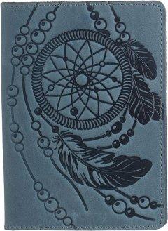 Обложка для паспорта Shvigel 13795 Голубая
