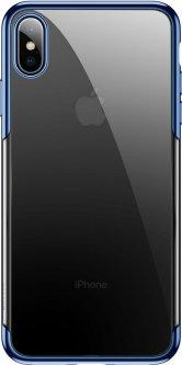 Панель Baseus Glitter для Apple iPhone Xs Blue (WIAPIPH58-DW03)