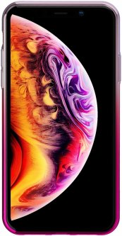 Панель Baseus Glow для Apple iPhone Xs Gradient Pink (WIAPIPH58-XG04)
