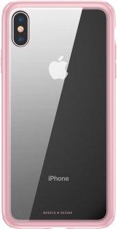 Панель Baseus See-through для Apple iPhone Xs Pink (WIAPIPH58-YS04)