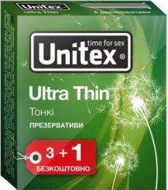 Презервативы Unitex Ultra Thin 4 шт (798190041148)