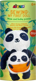 Набор для творчества Avenir Шитье игрушки Панда и пандёныш (CH201619)