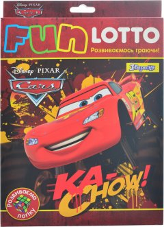Настольная игра 1 Вересня Fun Lotto Cars Bigfoot (4823099536931)