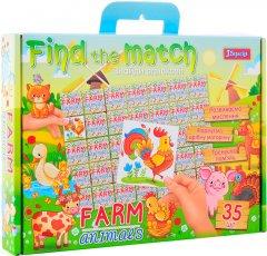 Настольная игра 1 Вересня Find The Match Farm Animals (4823091901478)