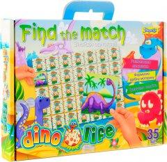 Настольная игра 1 Вересня Find The Match Dino Life (4823091901454)