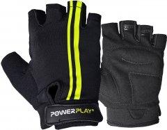Велоперчатки PowerPlay 5031G S Черно-желтые (5031G_S_Black-Yellow)