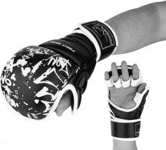Перчатки для Karate PowerPlay 3092KRT S Черно-белые (PP_3092krt_S_bl/white)