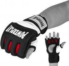 Перчатки для MMA PowerPlay 3075 M Черно-белые (PP_3075_M_Bl/White)