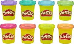 Игровой набор Hasbro Play Doh 8 цветов Неон (E5063) (5010993560202)
