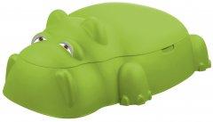 Песочница-бассейн Бегемотик StarPlay с крышкой Зеленая (18-518_green)