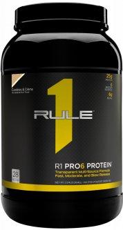 Протеин R1 (Rule One) Pro 6 Protein 924 г Печенье и крем (837234108826)