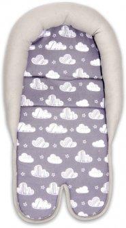Вкладыш в автокресло Bertoni (Lorelli) Seat Mat Clouds Grey (SEAT MAT clouds grey)