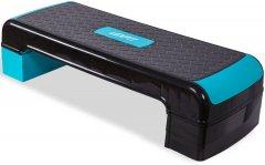 Степ-платформа USA Style LEXFIT 80 x 30 x 10/16/21 см Черно-синий (LKSP-1017)