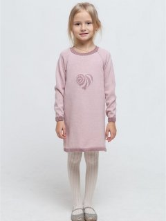 Платье-туника Прованс Сердце 13925 110-116 см Розовое (4823093418264)