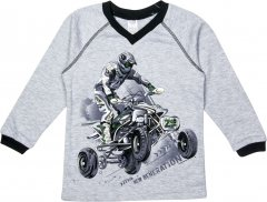 Пуловер Z16 3ІН108-4 (2-130) 152 см Сірий (31010842130152)