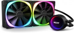 Система жидкостного охлаждения NZXT Kraken X63 RGB - 280 мм AIO Liquid Cooler with Aer RGB and RGB LED (RL-KRX63-R1)