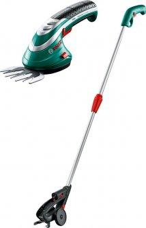 Комплект Аккумуляторные ножницы для травы Bosch ISIO 3 + Телескопическая штанга (0600833105)
