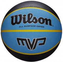 Мяч баскетбольный Wilson MVP 285 Size 6 Black/Blue (WTB9018XB06)