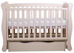 Детская кроватка Angelo Lux-1 Кремовый (11002)