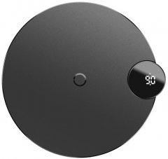Беспроводное зарядное устройство Baseus Digtal LED Display Wireless Charger Black (WXSX-01)