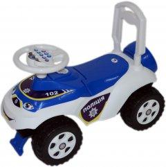 Чудомобиль Active Baby Police музыкальный Бело-синий (013117-0101М)